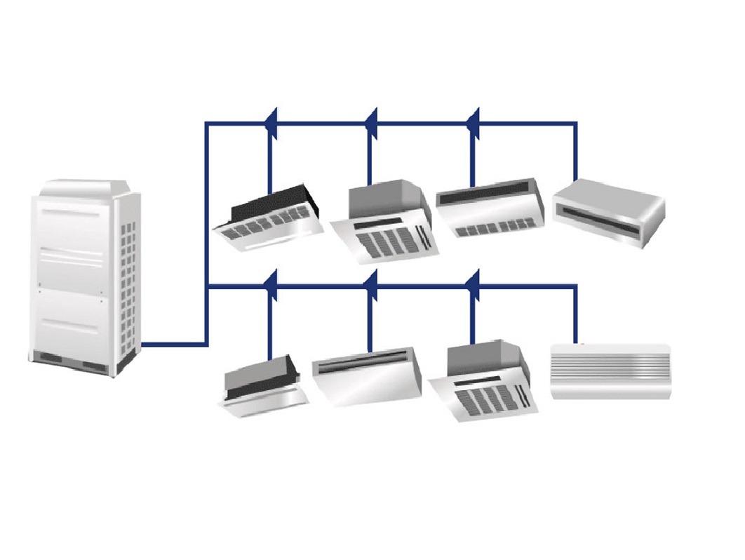 سیستم-وی-ار-اف-vrf-کولر-گازی