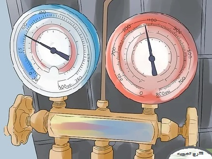 مراحل شارژ گاز کولر گازی و اسپلیت